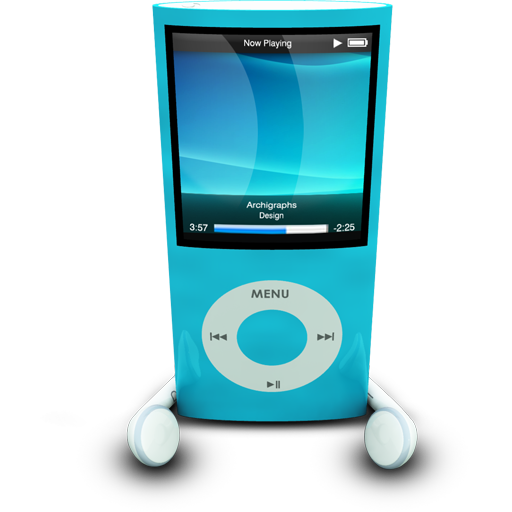 IPodPhonesBlue icon