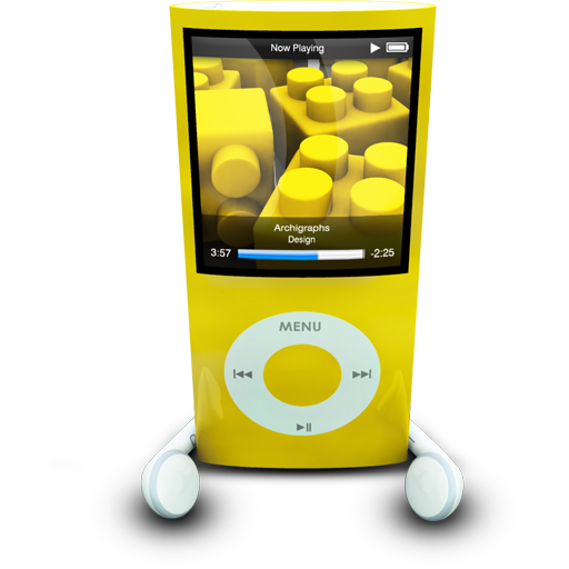 iPodPhonesYellow icon
