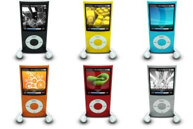 iPod Nano Icons