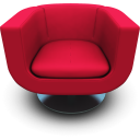 http://icons.iconarchive.com/icons/archigraphs/modern-chairs/128/Magenta-Seat-icon.png
