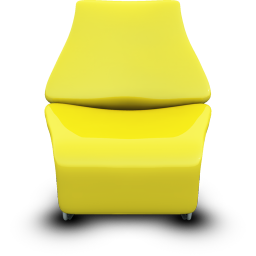 Yellow Seat icon