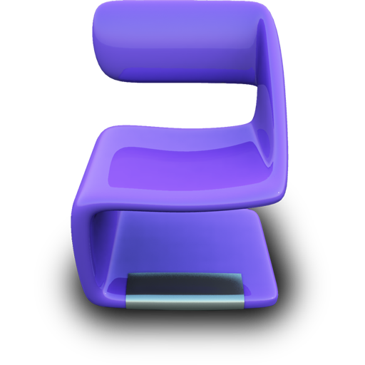 Purple Seat icon