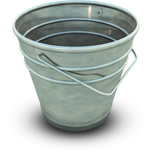 Empty Bucket icon