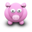 http://icons.iconarchive.com/icons/archigraphs/we-love-cows/64/PinkCow-icon.png