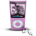Pink iPod4rthGen icon