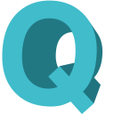 Letter Q icon