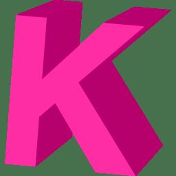 K Alphabet Letter Letter K icon