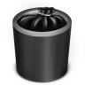 Trash-Black-Full icon