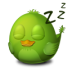 Adium-Bird-Sleep icon