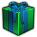 http://icons.iconarchive.com/icons/arrioch/christmas/128/present-green-icon.png