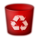 trash empty icon