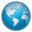 Icy-earth icon