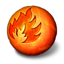 http://icons.iconarchive.com/icons/arrioch/orbz/128/orbz-fire-icon.png