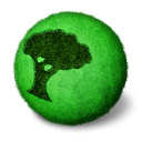 http://icons.iconarchive.com/icons/arrioch/orbz/128/orbz-nature-icon.png