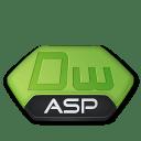 Adobe dreamweaver asp v2 icon