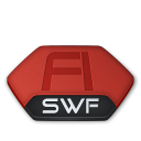 Adobe-flash-swf-v2 icon