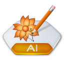 Adobe illustrator ai icon