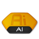 Adobe illustrator ai v2 icon