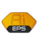 Adobe illustrator eps v2 icon