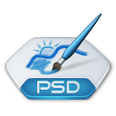 Adobe photoshop psd icon