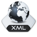 Internet xml icon