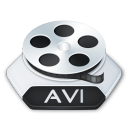 Media video avi icon