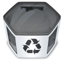 System-trash-full icon