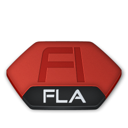 Adobe flash fla v2 icon
