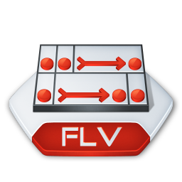 Adobe flash flv icon