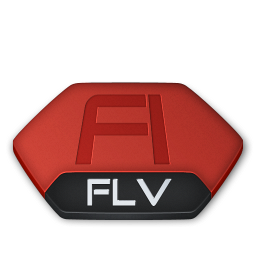 Adobe flash flv v2 icon