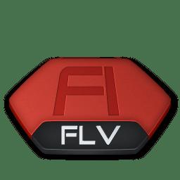 Adobe flash flv v2 icon