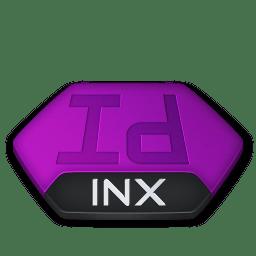 Adobe indesign inx v2 icon