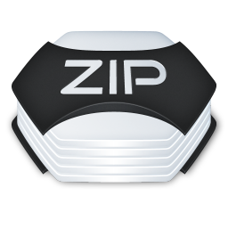 Archive zip icon