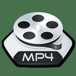 Media video mp 4 icon