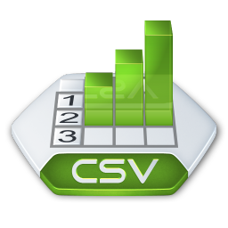 Office excel csv icon