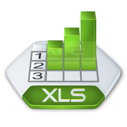 Office excel xls icon