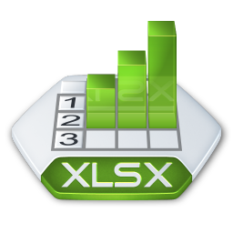 Office excel xlsx icon