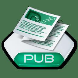 Office publisher pub icon