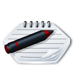 System notepad icon