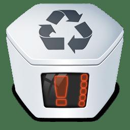 System trash v2 full icon