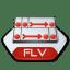 Adobe flash flv icon