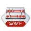 Adobe flash swf icon