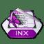 Adobe indesign inx icon
