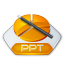 Office powerpoint ppt icon
