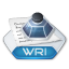 Office word wri icon