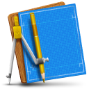 Blueprint Simple icon