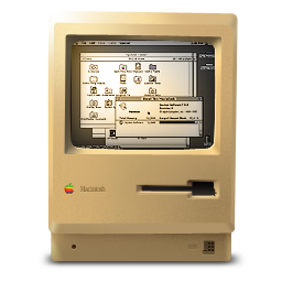 Macintosh Plus ON icon