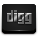Digg Gray 2 icon