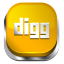 Digg-Orange-3 icon