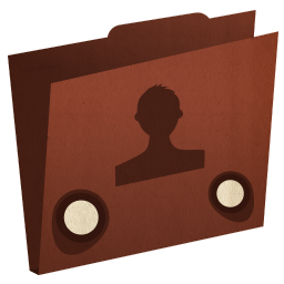 folder user icon